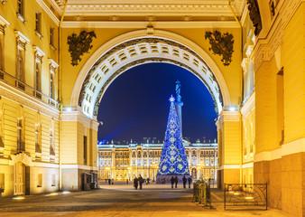Christmas St. Petersburg. Russia