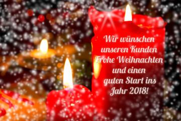 Frohe weihnachten unseren kunden