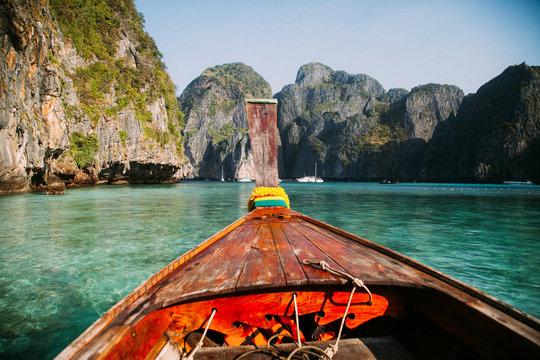 Boattrip Maya Bay