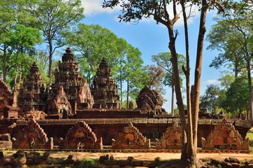 Banteay Srei temple Siem Reap complex Cambodia