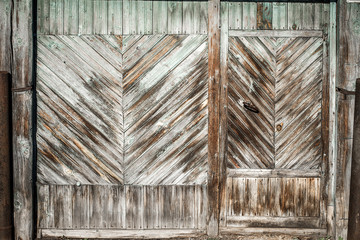 Old door with interesting texture