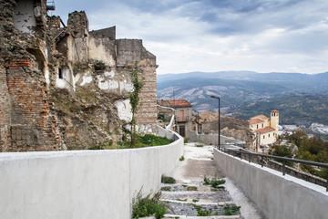 Calitri (Avellino) Terremoto Irpinia