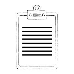 cheklist clipboard isolated icon vector illustration design
