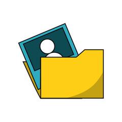 document folder design concept