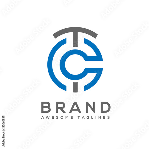 Best tc letter circle style logo vector letter ct abstract business best tc letter circle style logo vector letter ct abstract business logo design template accmission Image collections