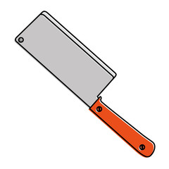 kitchen ax isolated icon vector illustration design