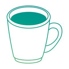 coffee mug isolated icon vector illustration design
