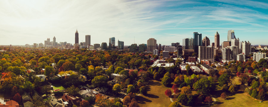 Autumn in Atlanta