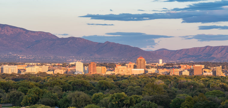 Albuquerque, New Mexico Skyline