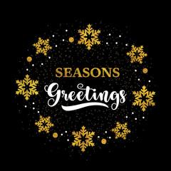 Holiday greeting card.
