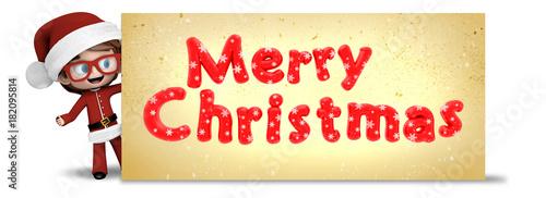 Feliz Navidad Rotulos.Nino Con Rotulo De Feliz Navidad Fotos De Archivo E