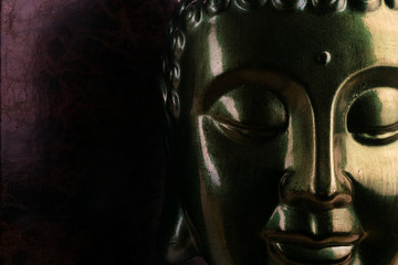 Buddha Black Gold