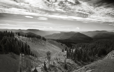 View from Timberline Lodge, Oregon