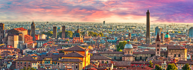 cityscape of Bologna Fototapete