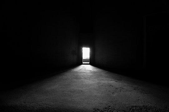 Bright door way