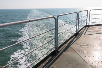 Cruise ship's deck