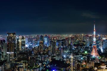 日本・東京の夜景