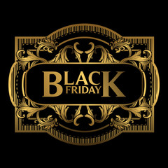 Black Friday Ornament Design