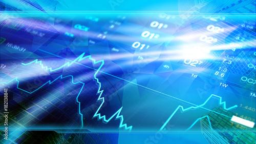 Finance Business Economy Invest Wallpaper Corporate Blue Design Background Header Image