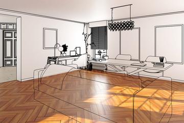 Private Office Area (conception)