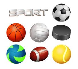 balls set sports