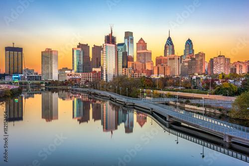 Fototapete Philadelphia, Pennsylvania, USA