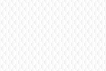 White abstract geometric background. Vector illustration