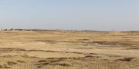 mud volcano, landscape