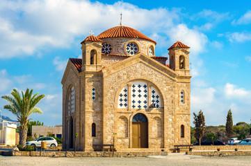 Foto auf Acrylglas Zypern St George church, Agios Georgios, Cyprus, Paphos district