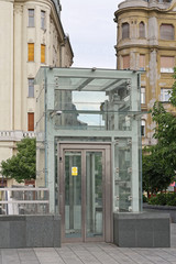 Accessible Glass Lift