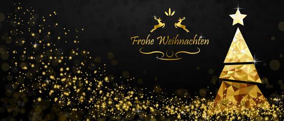 Weihnachtsbaum - Gold (DE)