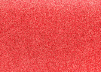 Red glitter texture background for Christmas holiday decoration metallic backdrop design element