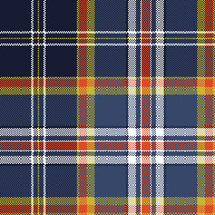 Color check plaid seamless fabric texture