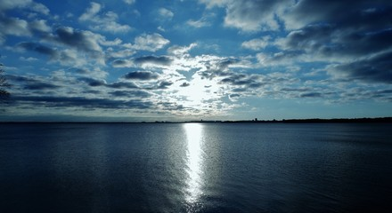 Coastal Sunlight - Arctic Skies