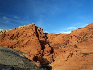 Valley of Fire sandstone formation