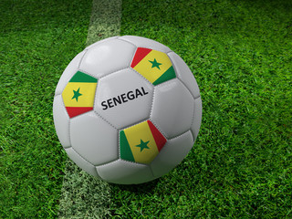 Senegal soccer ball