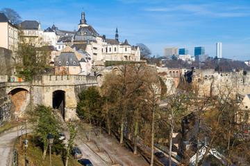 Luxembourg city, corniche