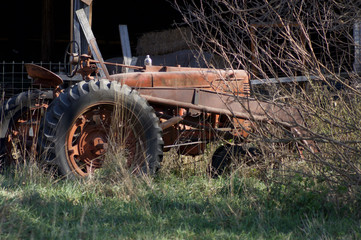 Tractor Old Rusty