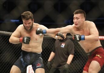 MMA: UFC Fight Night-Asker vs Yaozong