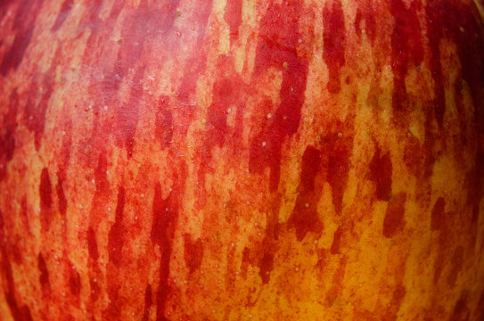 Red apple texture