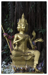 Temple statue Chiang Mai Thailand