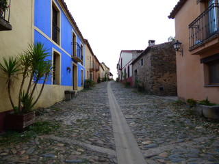 Villa de Granadilla. Pueblo historico abandonado en Caceres, Extremadura (España)