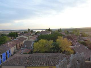 Granadilla, pueblo abandonado en Cáceres (Extremadura, España)