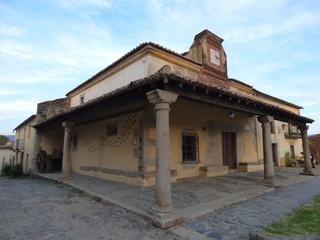 Ermita de Granadilla pueblo historico en Caceres ( Extremadura, España)