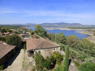 Granadilla pueblo historico abandonado en Caceres ( Extremadura, España)