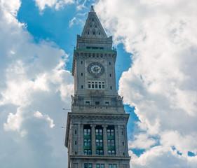 Clock Tower in Boston