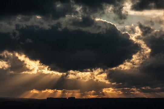 Sunset Over Farmington