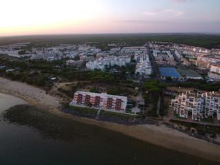 El Portil en la costa de Huelva ( Andalucia, España) El Portil pertenece al municipio de Punta Umbría y Nuevo Portil a Cartaya.