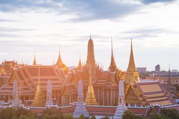 Golden grand palace Bangkok historic landmark, Thailand