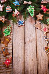 Homemade Christmas Gingerbread Cookies